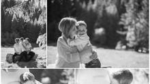 Une séance grossesse dans la nature et en famille
