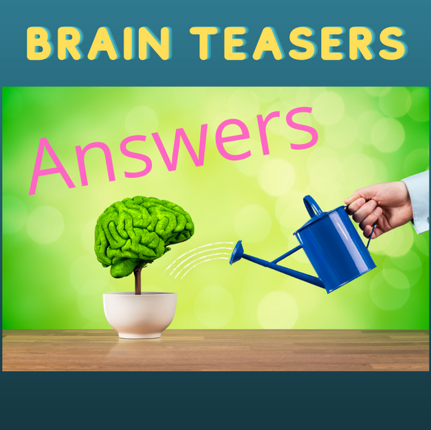 Answers to brain teasers