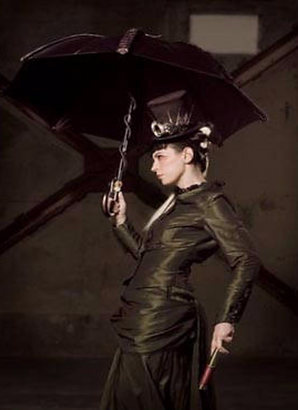 Addair- Apparitions Collection Victorian Steampunk Gown