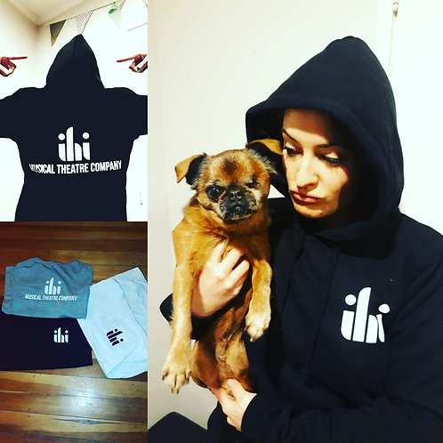 Company hoodie - black/grey