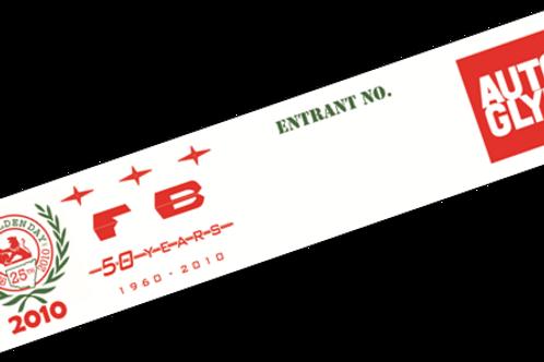 2010 Window Sticker