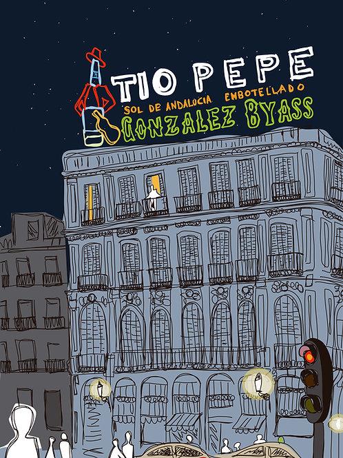 Tío Pepe . Madrid. Ilustración Digital 50x70cm