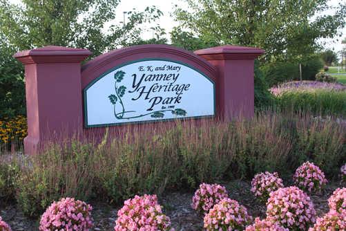 Yanney Heritage Park - North Entrance