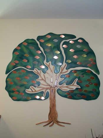 Peterson Senior Activity Center Donor Tree
