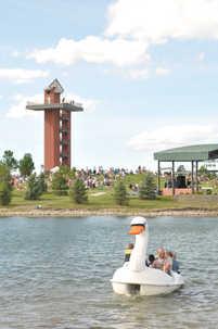 Lake and Wetlands