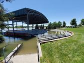Flooding around the Cope Amphitheater.