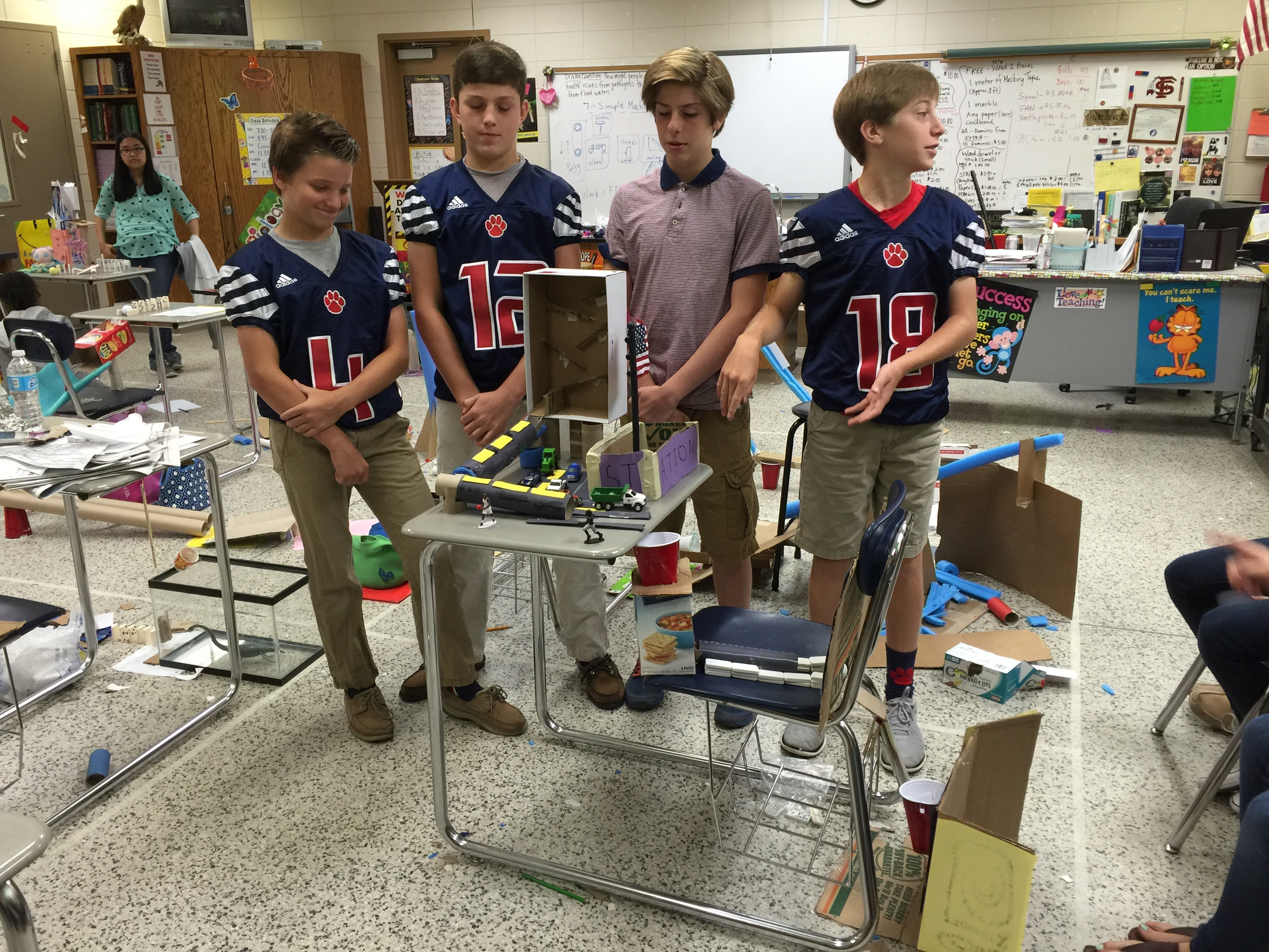 Rube Goldberg Machine Competition