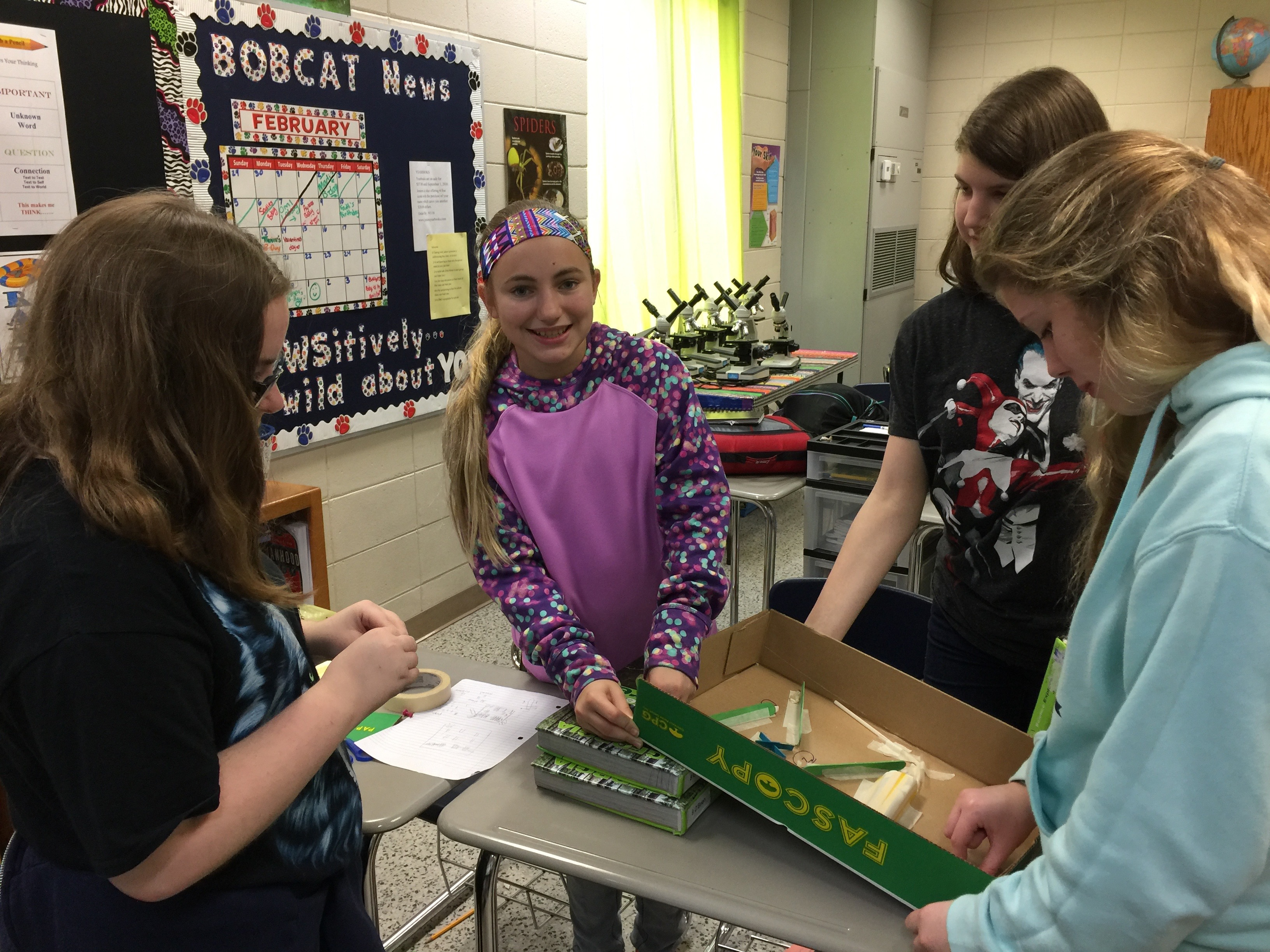 Girls' Engineering Challenge 5