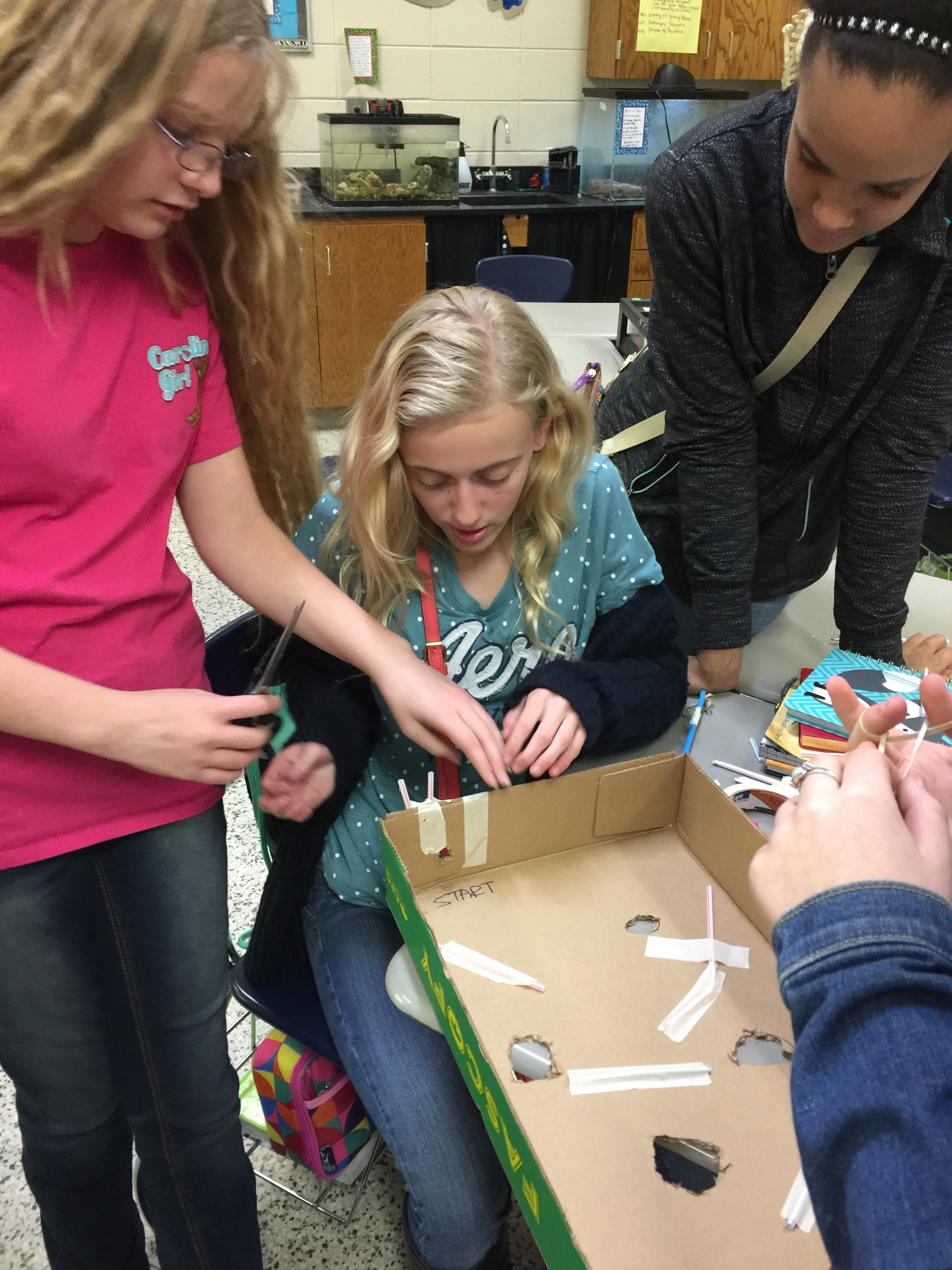 Girls Engineering Challenge 4