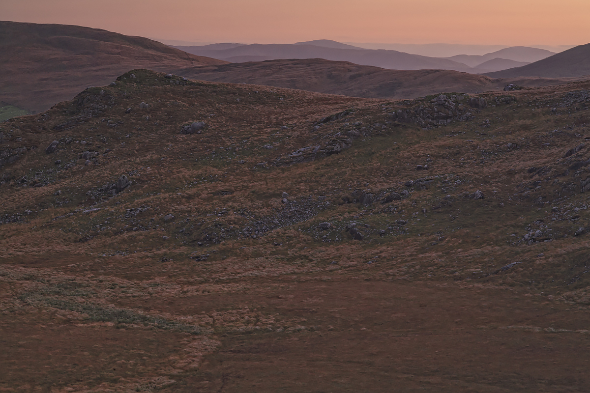 Moll's Gap at dusk, County Kerry