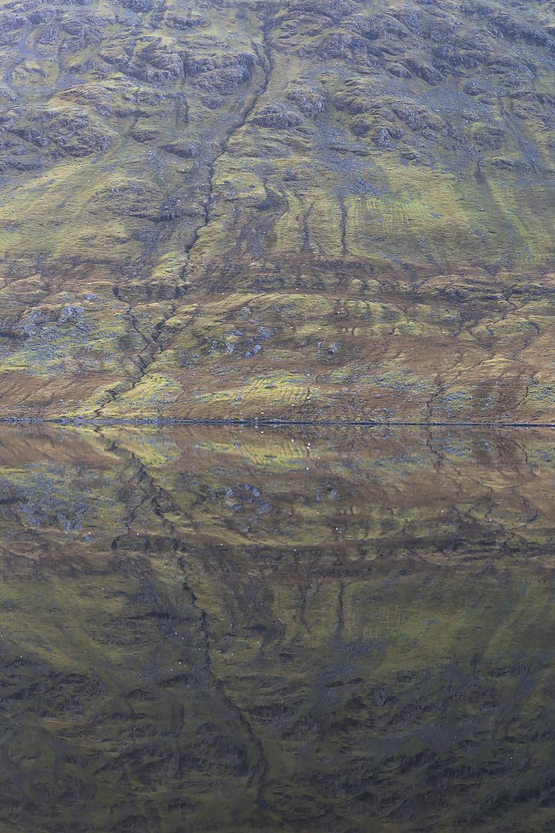 Lough Nafooey Reflection, County Mayo