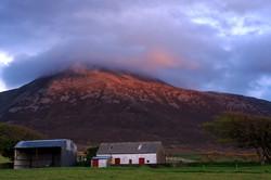 Crough Patrick Sunset, County Mayo
