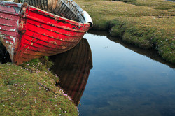 Machair & Boat, County Mayo