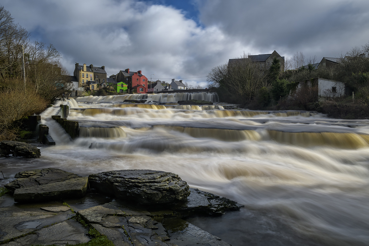 Ennistymon Cascades, County Clare