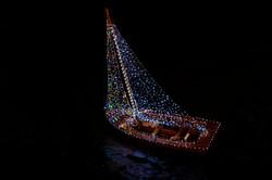 Christmas Boat, Kinvara, County Galway
