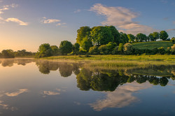 The Shannon near O'Briensbridge, County Clare