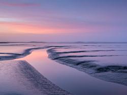 Sunrise at the Fergus Estuary Mudflats