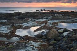 Rocky shore near Ballycastle