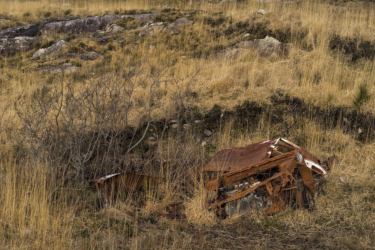 The bog as a dumpsite, Co. Kerry