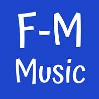 F-M Music blue square.png