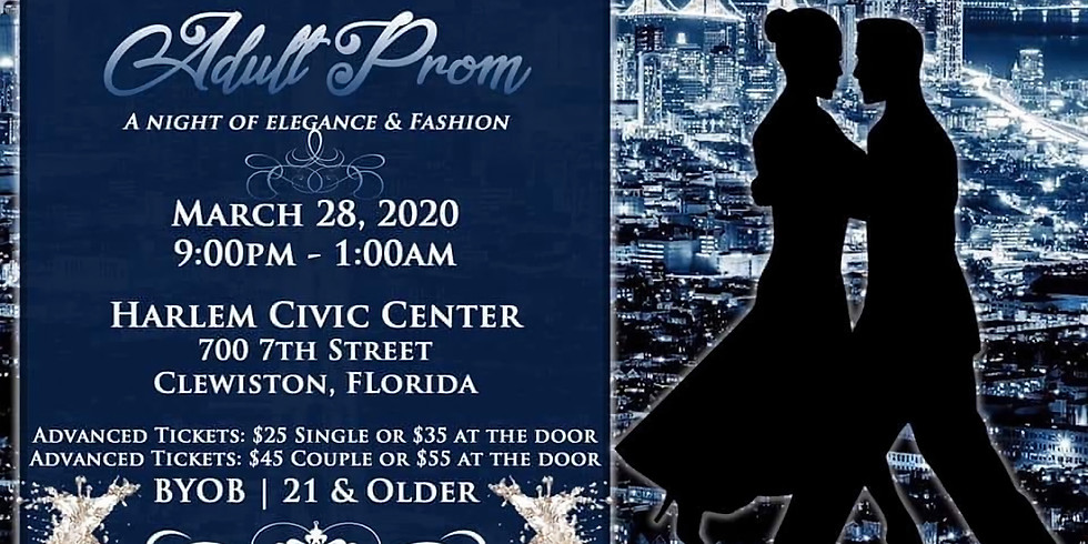First Annual Adult Prom