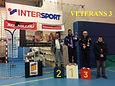 8 janvier 2017, critérium vétérans départemental à Millau (12) : catégorie V3