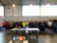 Tous les participants au critérium vétérans de Lioujas