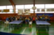 3ème tour du Challenge du Conseil Départemental de Tennis de Table à Rieupeyroux
