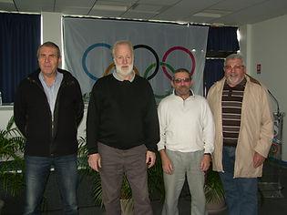 Représentants du CD12 à l'Assemblée Générale extraordinnaire de la Ligue Midi-Pyrénées de Tennis de Table