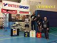 8 janvier 2017, critérium vétérans départemental à Millau (12) : catégorie V2