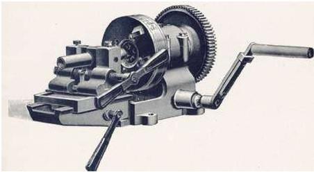 torno de roscar, origen del mecanizado