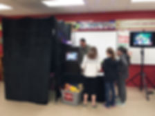 school carnival photo booth rental