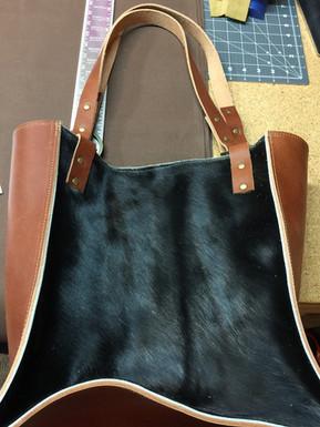 Western Leather Bag Prototype
