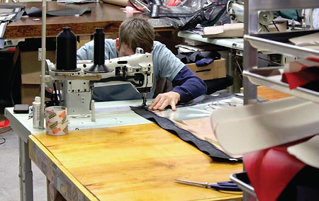 sewing and production