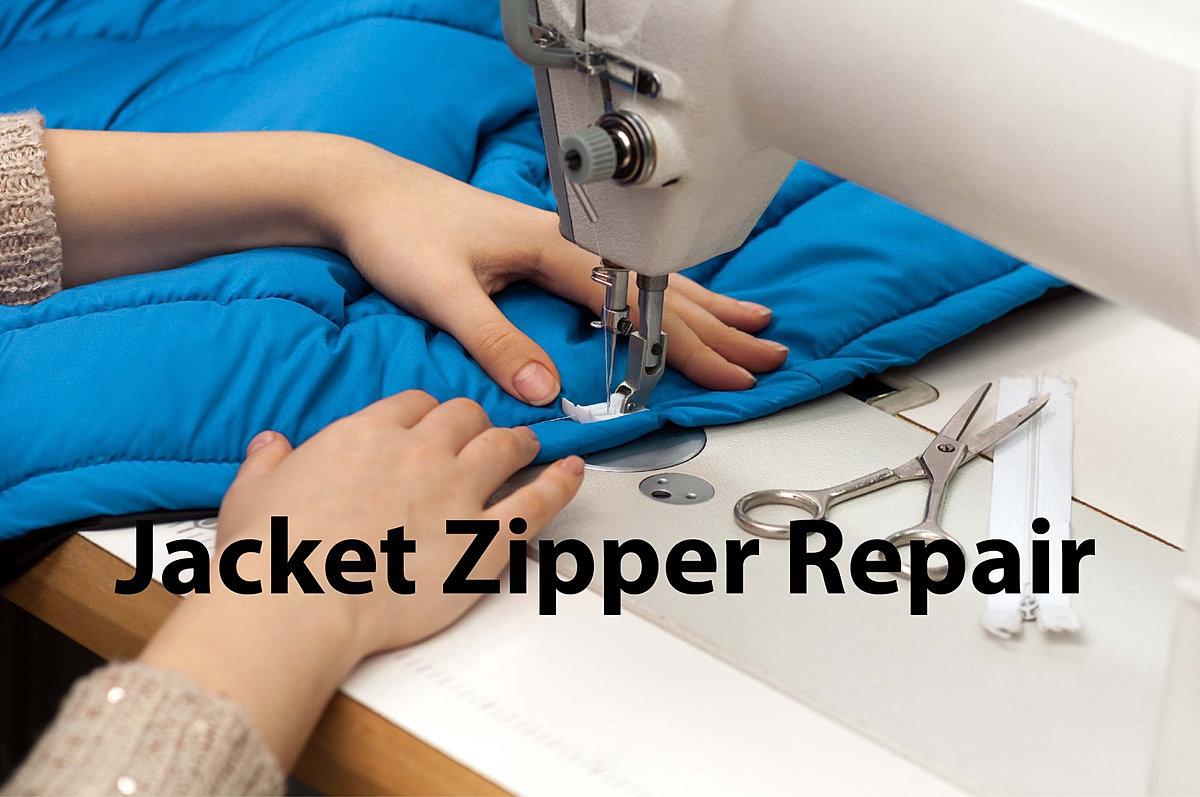 Leather jacket zip repair - Jacket Zipper Repair