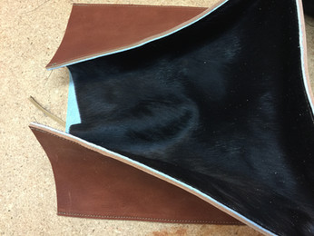 Western Leather Bag Prototype