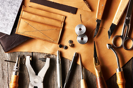 leather bag making tools