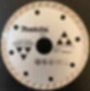 disco esmeril makita granito y marmol d-44301
