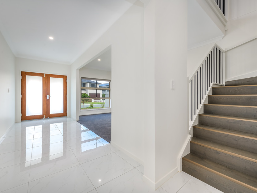 Staircase & Entry Way