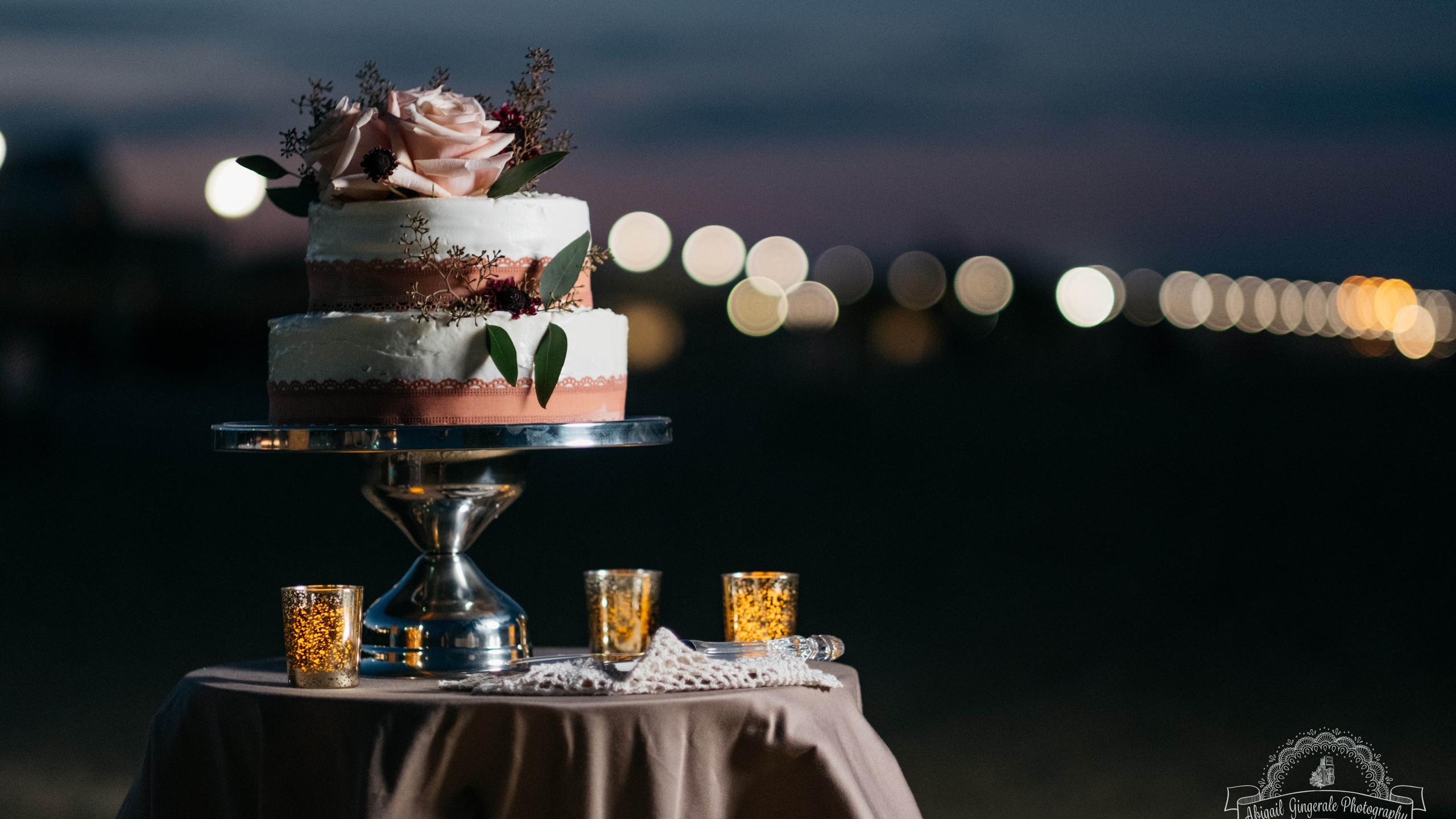 Crafted Wedding Cake