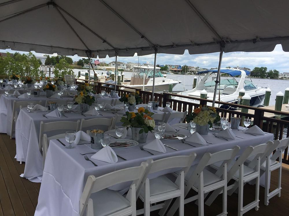 NJ Wedding Planner - Bayside Reception