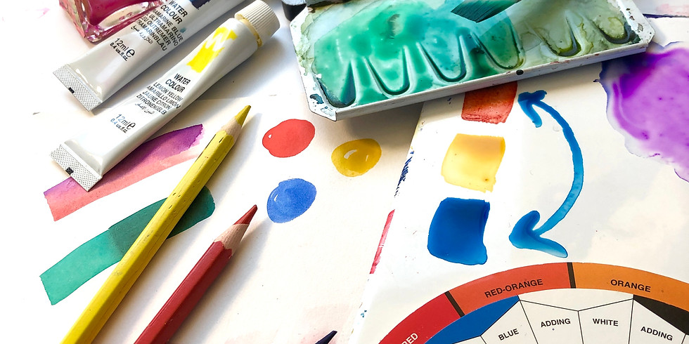 Beginner's colour mixing