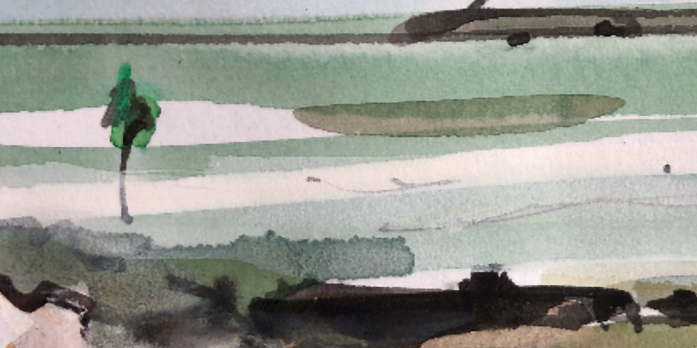 Fort Victoria and the Western Solent - Virtual Sketch Walk
