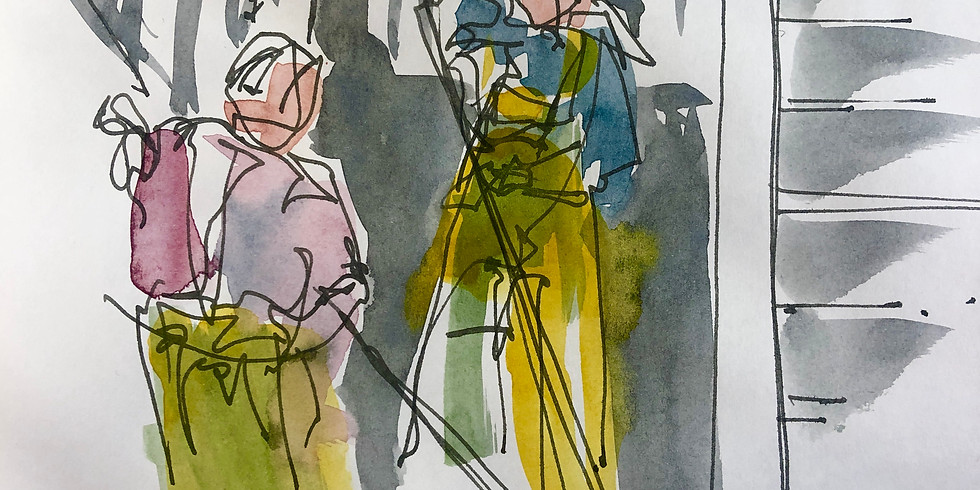 Drawing figures; An introduction - Live online lesson - £9 (40% discount for members)