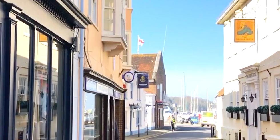 Yarmouth IOW  - Virtual Sketch Walk