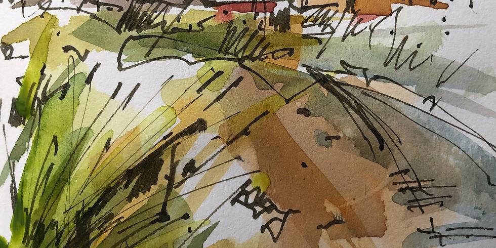Sandhard Beach, Yarmouth IOW  - Virtual Sketch Walk  - £9 (40% discount for Members)