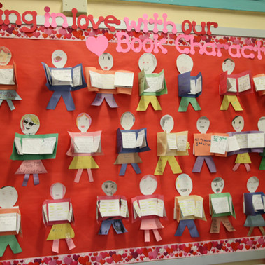 Book Character Word Wall