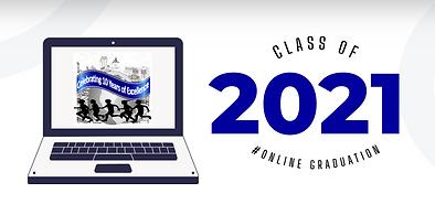 5th Grade Virtual Graduation. June 25, 2021 at 7:00pm