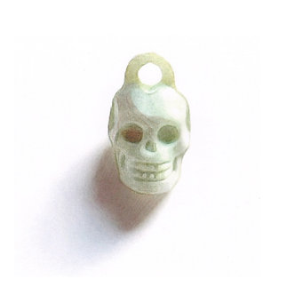 Green Skull Print