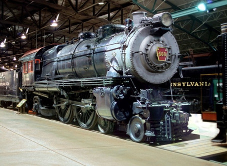 PRR E6s Atlantic No. 460, The Lindbergh Engine